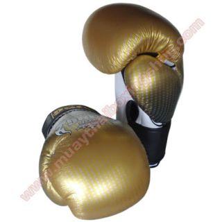 Top King Boxing Gloves Super Star TKBGSS 01 Air Gold 16 Oz