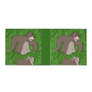 The Jungle Book Baloo with Grass Skirt Vinyl Binder