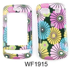 For LG Xenon GR500 Case Cover Big Daisy Flowers Black