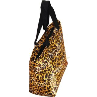 Leopard Print Mini Tote Bag Lunch Shopping Rockabilly Pin Up Retro