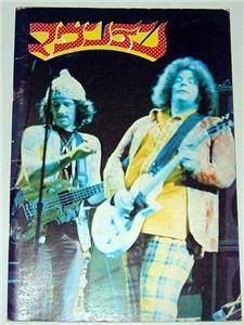 Mountain Leslie West Japan Concert Tour 1973 Program