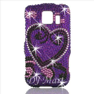 LG LS670 Opimus s Diamond Bling Phone Case Cover Shell