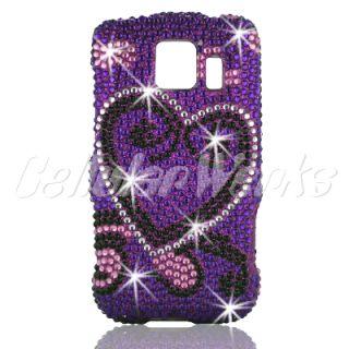 Bling Cell Phone Case for LG VM670 Optimus V LS670 s US670 U Virgin