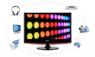 LG Flatron MX2762 27 Full HD LCD Monitor HD TV HDMI