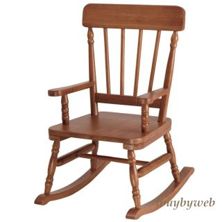 Levels of Discovery Kids Classic Rocking Chair Maple