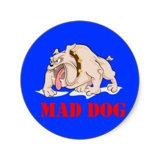 Mad Dog Sticker