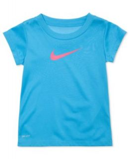 Nike Brand Kids T Shirt, Little Girls Graphic Tee   Kids