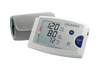 LifeSource Auto Inflate Blood Pressure Monitor Cuff Pressure Indicator