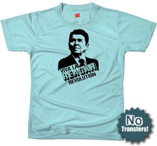Ronald Reagan Republican Party Conservative GOP T Shirt