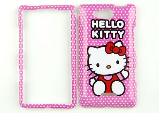 Hello Kiy Pink Phone Case Cover Skin for Verizon LG Lucid VS840