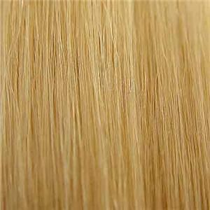 Fusion Deep Wave Curly Remy Human Hair Extensions Light Ash Blonde #22