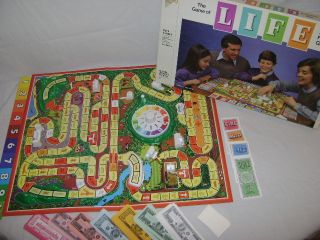 Bradley The Game of Life Board Game Original Box Complete # 4000