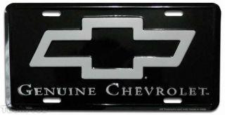Vintage Chevy License Plate Custom Tag Emblem Classic