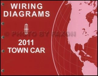 2011 Lincoln Town Car Wiring Diagram Manual Original Electrical