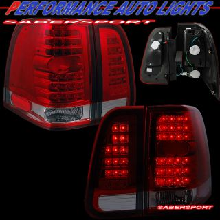 2003 2006 Lincoln Navigator L E D  Tail Lights LED 4pcs Set Plug N