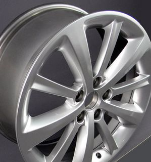 19 Lincoln MKS 3766 Wheels Rims Hyper Silver