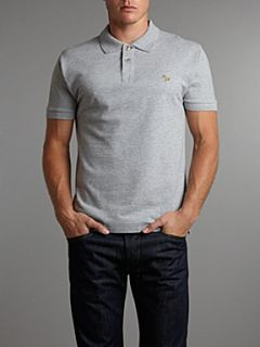Paul Smith Jeans Regular zebra polo shirt Grey