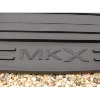 07 08 09 10 MKX Genuine Lincoln Black Rubber All Weather Floor Mat Set