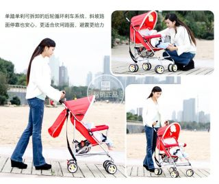 New Simple Type Lightweight Umbrella Car Stroller Baby Car Play Kid