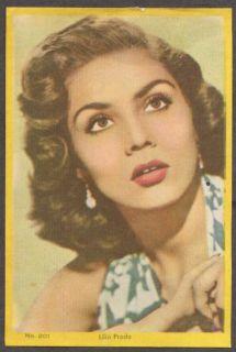 Mexican Actress Lilia Prado 3x5 Pic Argentina 1959