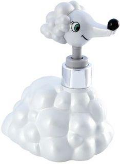 White Poodle Bath Kitchen Liquid Hand Soap Dispenser