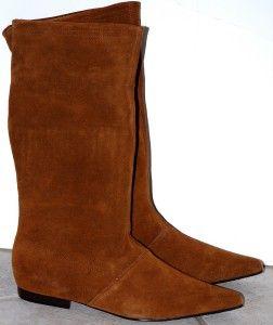 New $150 Steve Madden Suede Boots Flats 7 Lilyan