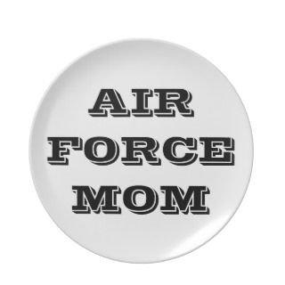 Plae Proud Air Force Mom