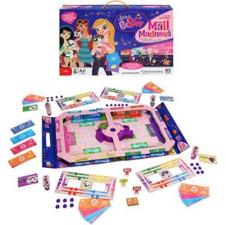 New Littlest Pet Shop Mall Madness Electronic Board Game LPS Talking