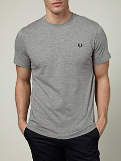 Fred Perry Crew neck T shirt Steel