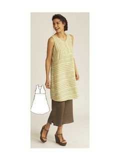 Flax 11 Summer Free Spirit Dress Artsy Linen s M U PIK Color