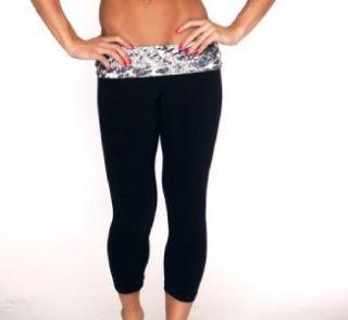 Lino Brazilian Designer Gym Fitness Yoga Sports Capri Pants Ladies