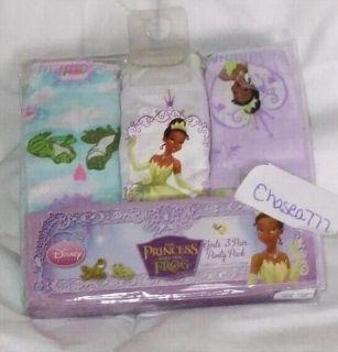 Sz 8 Disney Princess and the Frog Tiana Underwear Panties Little Girls