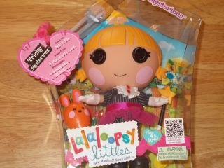 New Lalaloopsy Littles 11 Doll Mistys Little Sister Tricky Mysterious