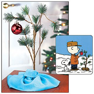 New Peanuts Musical Charlie Brown Christmas Tree with Blanket 24