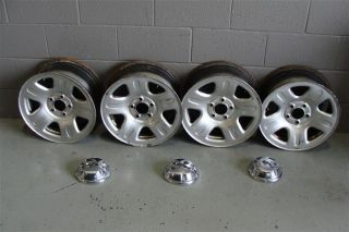 02 03 Ford Explorer Sport Trac 16 Factory Steel Chrome Wheels Free