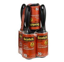 Scotch 5 Pack Lint Rollers 400 Sheets 5 Rolls