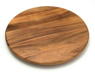 Lipper International 18 inch Lazy Susan Kitchen Storage Acacia