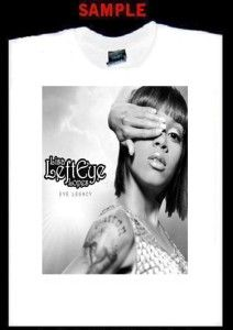 Lisa Left Eye Lopes Custom T Shirt Tee TLC Rap R B 261