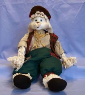 House of Lloyd Grandpa Lloyd Rabbit Bisque Porcelain