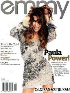 Emmy Magazine Paula Abdul Michael J Fox 2011 Dick Clark