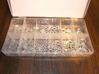 350pc Lock Flat Washers Assortment Kit New Tools