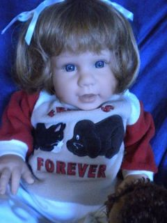 Lee Middleton Dolls Friends Forever Little Cub by Eva Helland