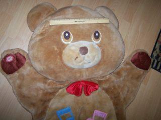 Childs Huge 50 Plush Bear Rug by Dan Dee Floor Toy