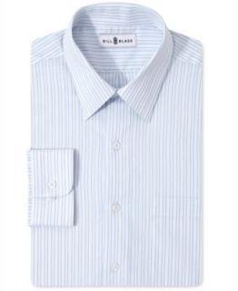 Bill Blass Dress Shirt, Lavender Check Long Sleeve   Mens Dress Shirts