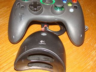 Logitech Wireless Xbox Controller Black B