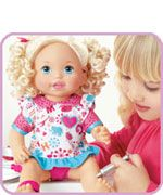 Fisher Price Little Mommy Doctor Mommy Baby Check Up Doll Blond
