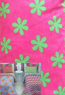 Little Miss Matched Kooky Flowers Queen Bed Skirt Bedding New