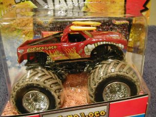 Hot Wheels 2012 Monster Jam Mud Trucks Series El Toro Loco