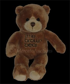 Gund Little Brown Bear Plush Golden Brown Teddy 8 Mini Stuffed Animal