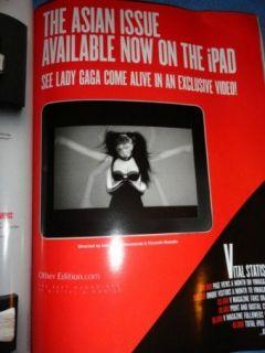 2011 Lady Gaga Tao Okamoto Shu Pei Sui He Liu Wen Fei Fei Asian models